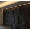新品大理石客厅电视背景墙花岗岩石皮自然面别墅会所酒店内外墙石