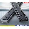 卡贝抽屉三节轨阻尼缓冲轨道滑道电脑桌键盘托架二节导轨橱柜滑轨